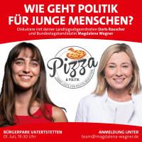 Pizza und Politik - Einladung